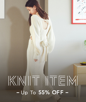 KNIT 55%OFF