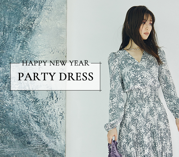 SNIDEL-PARTY DRESS