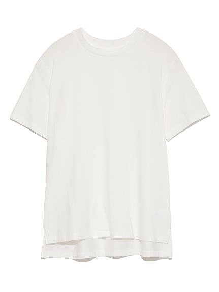 純色側開衩T-shirt