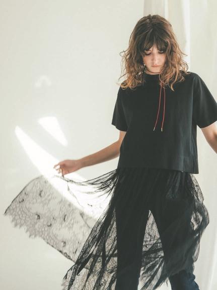 附透膚蕾絲裙T-shirt
