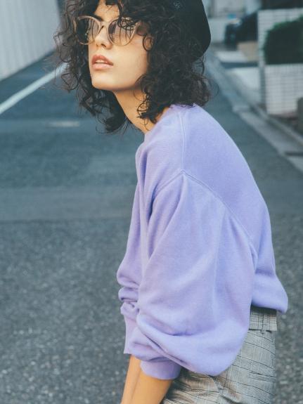 純色八分袖上衣