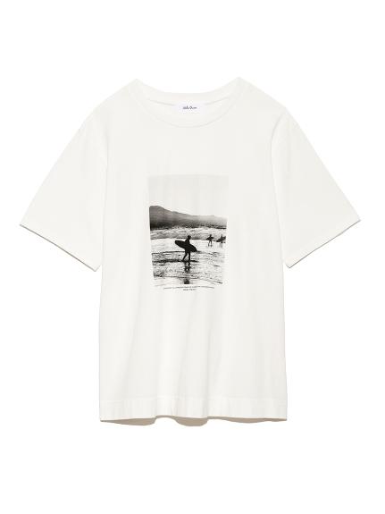 黑白相片T-shirt
