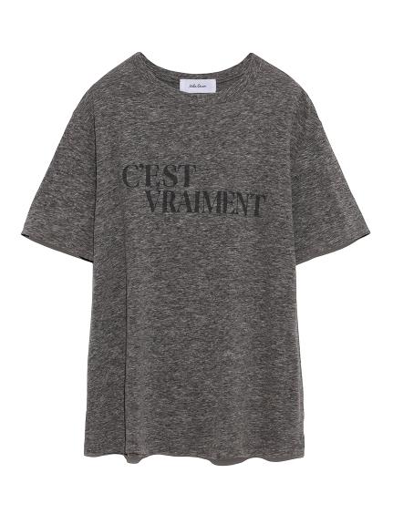 印刷字T-Shirt