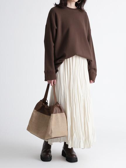 不規則衣襬刷毛上衣