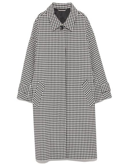 簡約立領繭型大衣