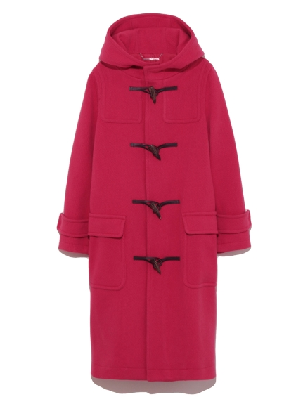 牛角釦造型長版大衣