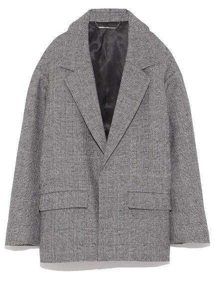 羊毛翻領西裝外套