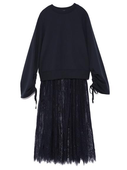 兩件式蕾絲連身裙