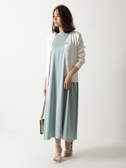 T-shirt風光澤感洋裝