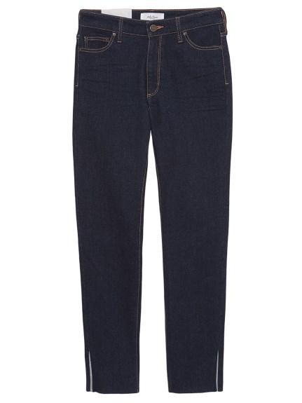 開衩造型緊身褲