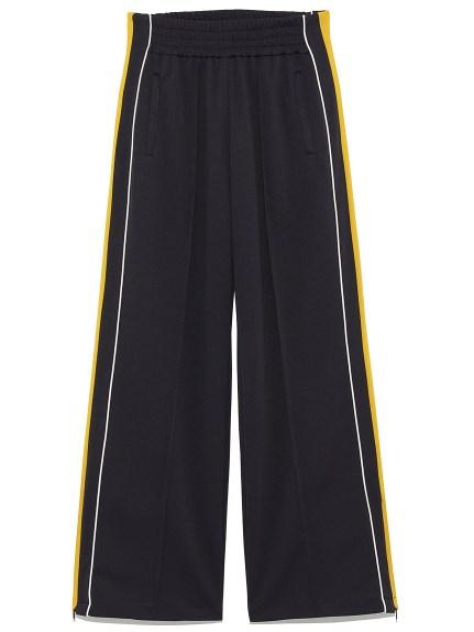 側線條造型休閒長褲
