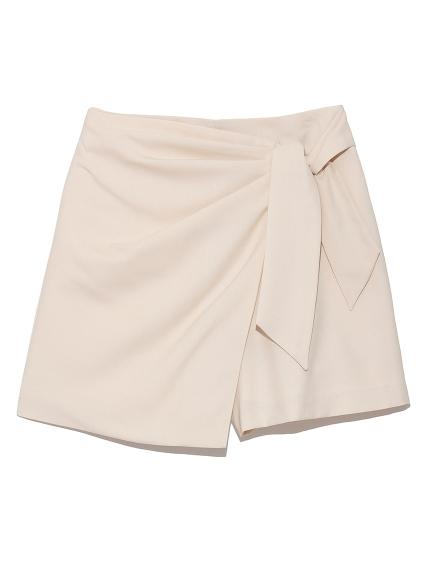側綁造型褲裙