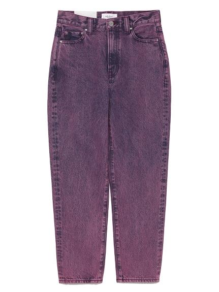 刷色錐形牛仔褲