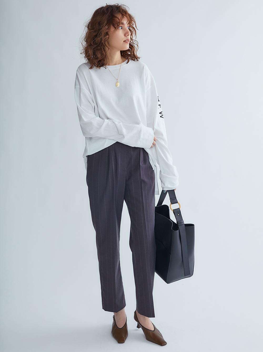 腰帶設計西裝褲