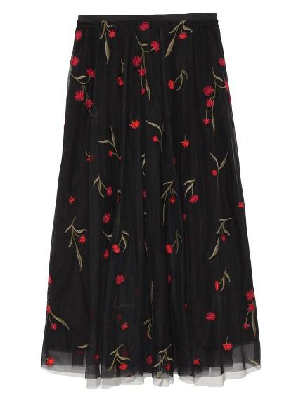 刺繡造型長裙