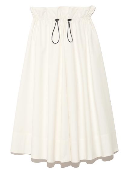 休閒抽繩設計長裙