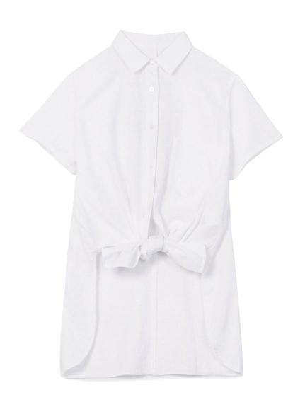 簡約長版襯衫