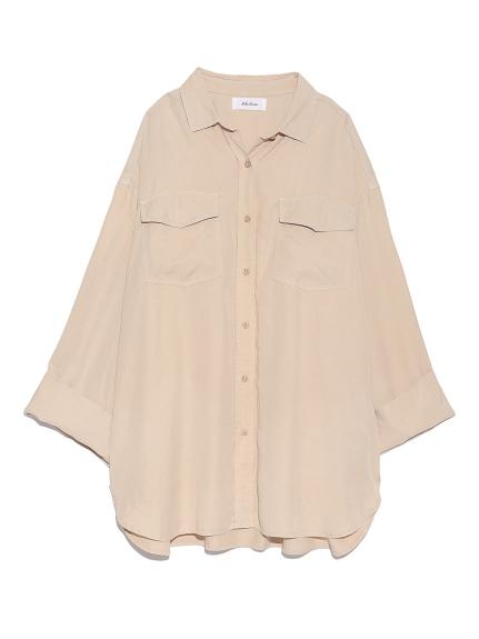 寬鬆感造型襯衫