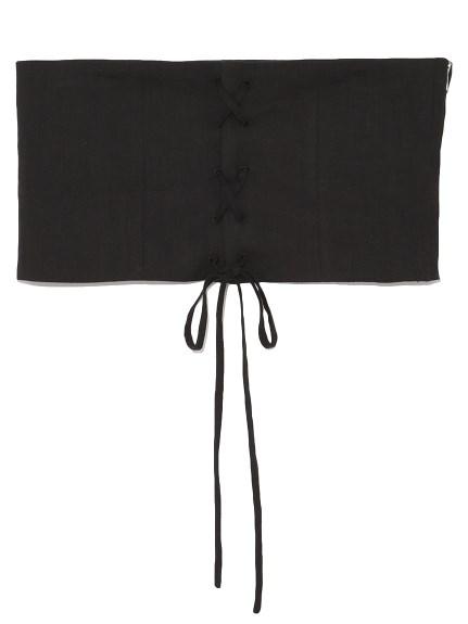 交叉編織風腰帶