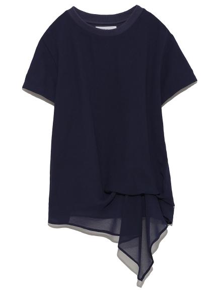 雪紡層次T-shirt