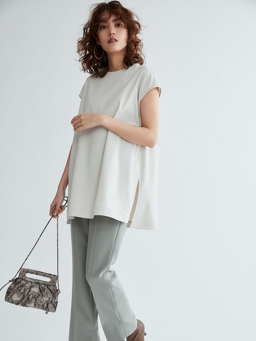 法式袖T-Shirt風上衣