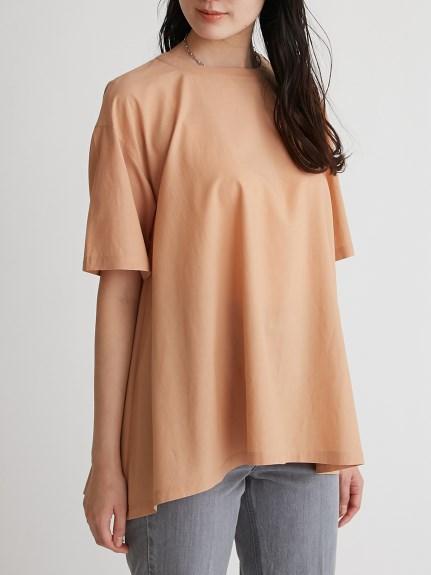 T-Shirt風傘襬上衣