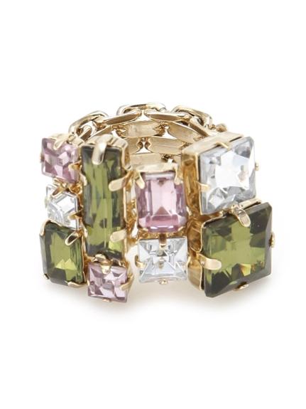 彩色寶石戒指