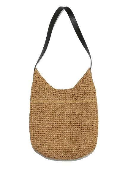 編織斜背包