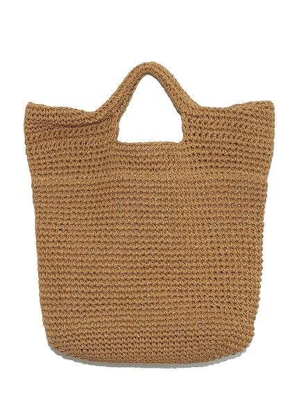 編織大容量手提包