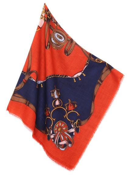 圖騰造型領巾