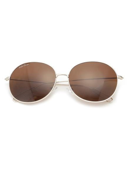 圓形大框太陽眼鏡