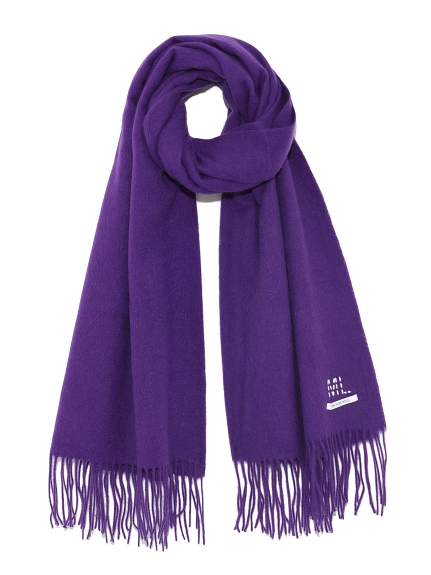純色羊毛圍巾