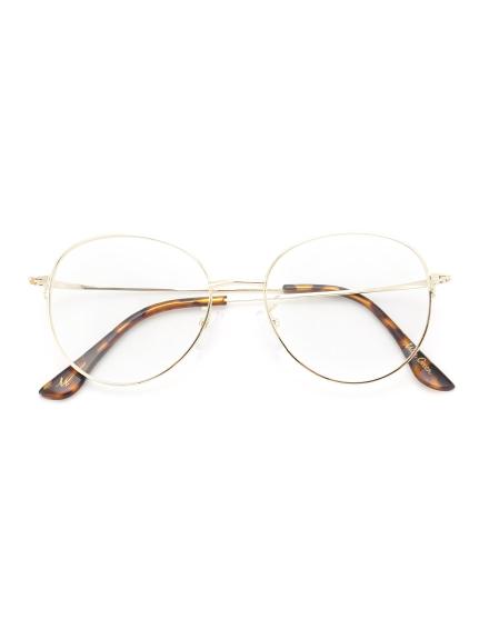金屬細框伊達眼鏡