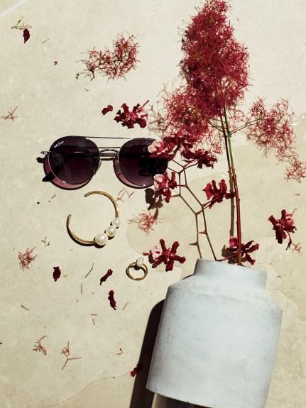雙鏡架太陽眼鏡