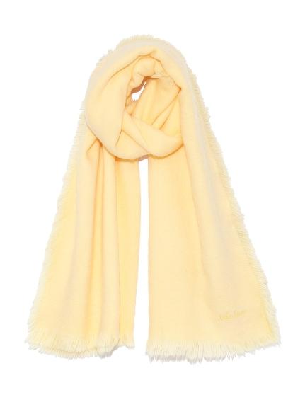 彩色抽鬚絨毛圍巾
