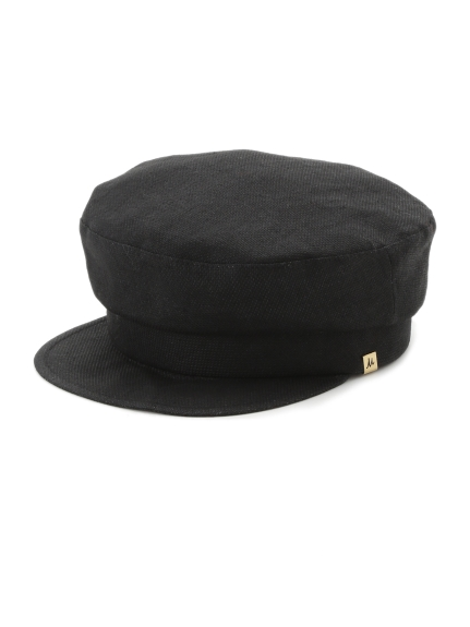 亞麻剪裁報童帽