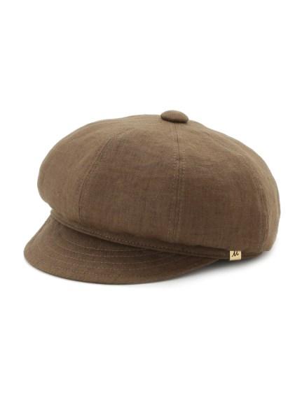 亞麻報童帽