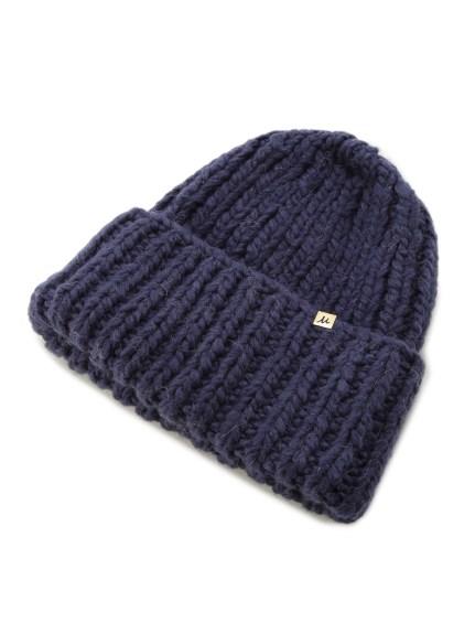 簡約羅紋毛帽