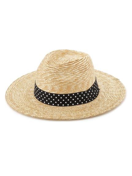 簡約造型草編帽