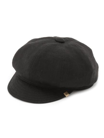 純色亞麻報童帽