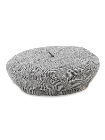 亞麻造型貝蕾帽