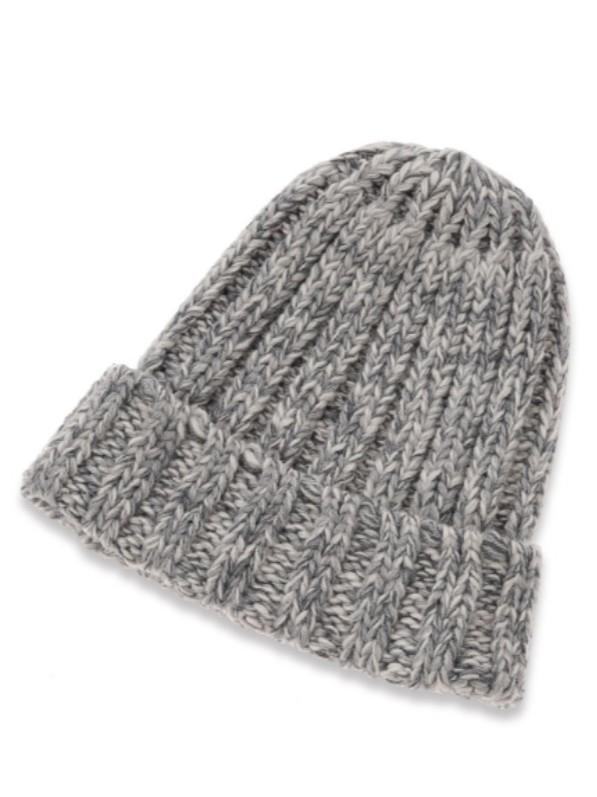 毛帽粗針織帽