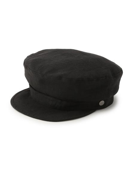 亞麻繫帶報童帽