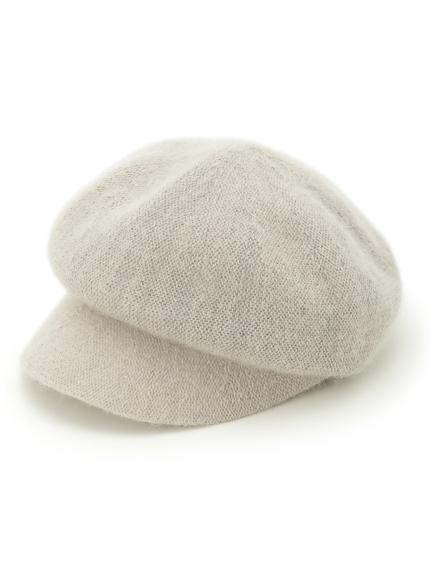 磨毛針織報童帽