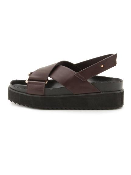 尖頭透視平底鞋