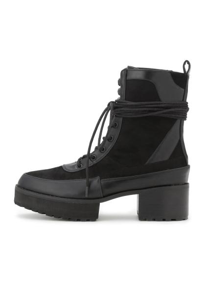 個性厚底短靴