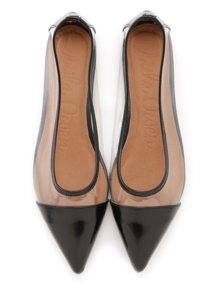 透視感造型平底鞋