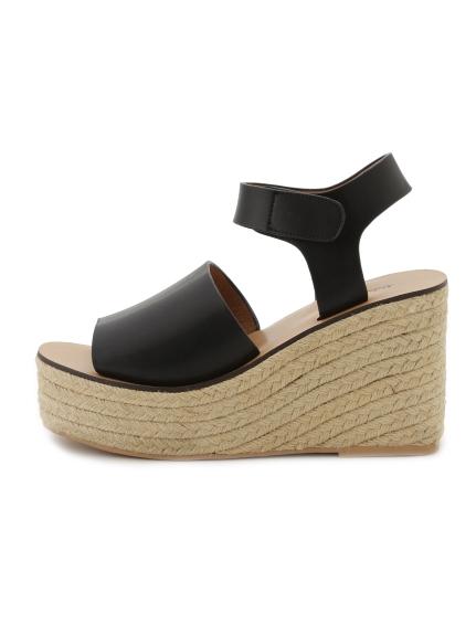 簡約楔形厚底涼鞋