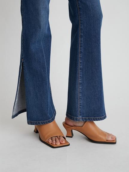 柔軟夾腳穆勒鞋