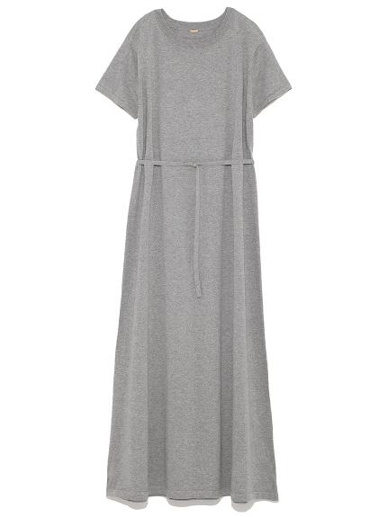 簡約短袖連身裙